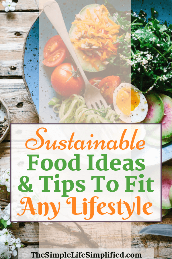 Sustainable Food Ideas and Tips To Fit Any Lifestyle