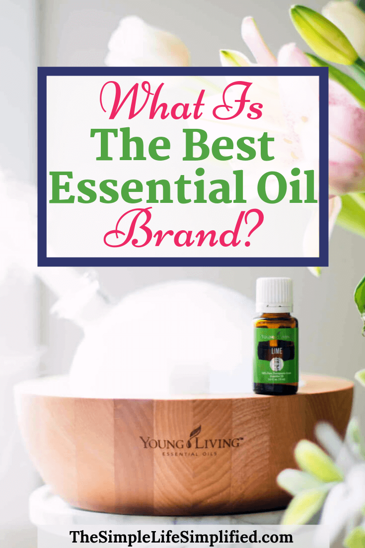 The Best Essential Oil Brand