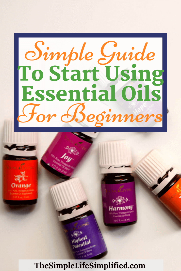 Guide To Using Essential Oils For Beginners