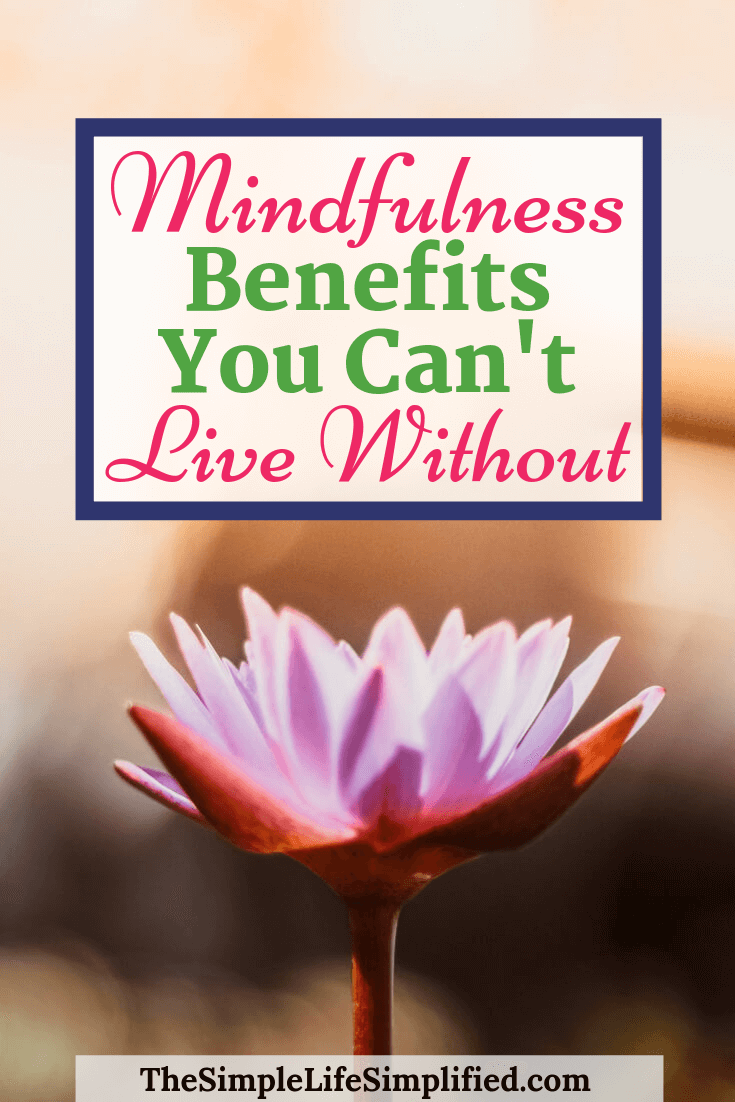 Mindfulness Benefits You Can't Live Without