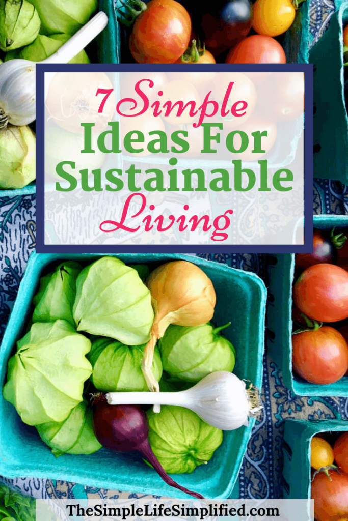 7 Simple Ideas For Sustainable Living
