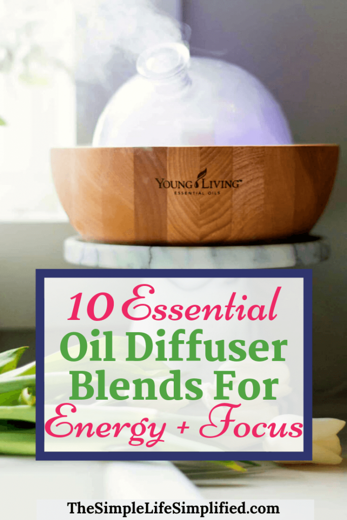 10 Simple Essential Oil Diffuser Blends For Energy And Focus