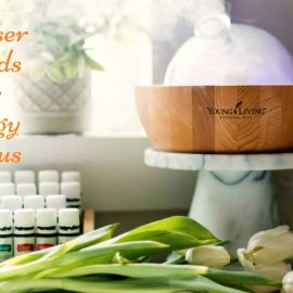 10 Essential Oil Diffuser Blends For Energy & Focus