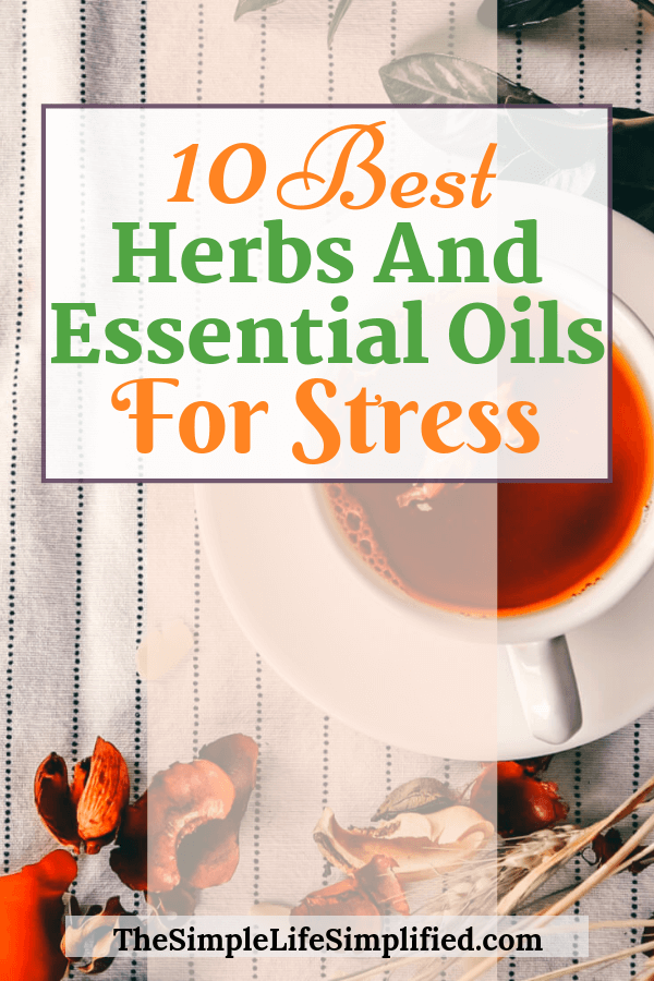 10 Best Herbs and Essential Oils For Stress