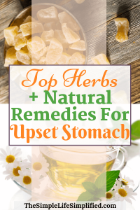 Best Natural Home Remedies For Upset Stomach