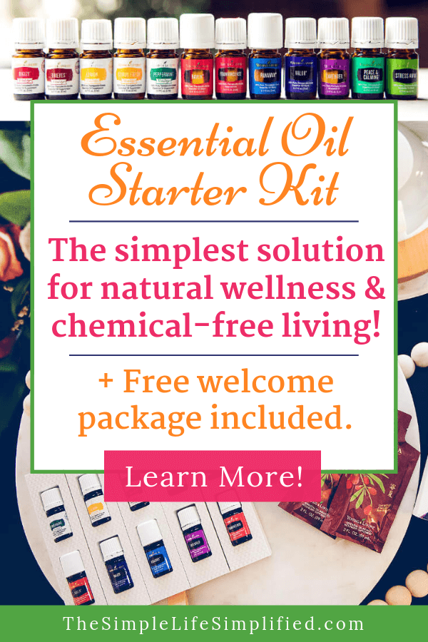 Start Living Chemical Free With This Essential Oil Kit