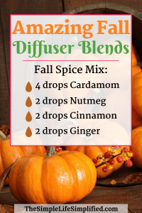 10 Amazing Fall Diffuser Blends