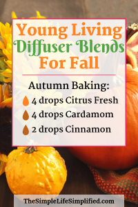 Young Living Diffuser Blends For Fall