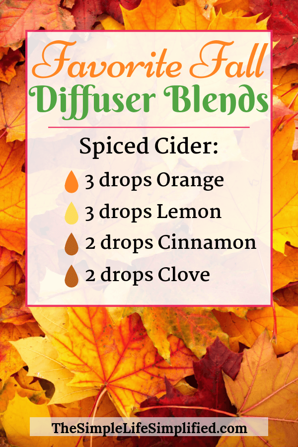 10 Fall Diffuser Blends You Need To Try