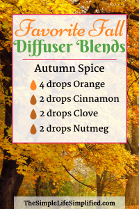10 Favorite Fall Diffuser Blends You Need To Try