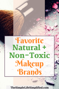 Natural and non-toxic makeup brands