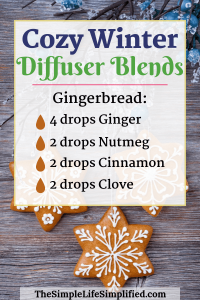 10 Cozy Winter Diffuser Blends