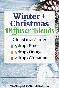 10 Winter and Christmas Diffuser Blends