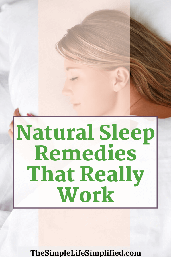 4 Natural Sleep Remedies That Really Work