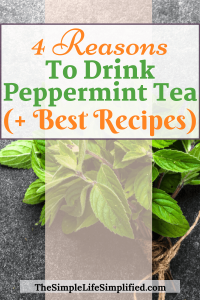 Reasons to drink peppermint tea